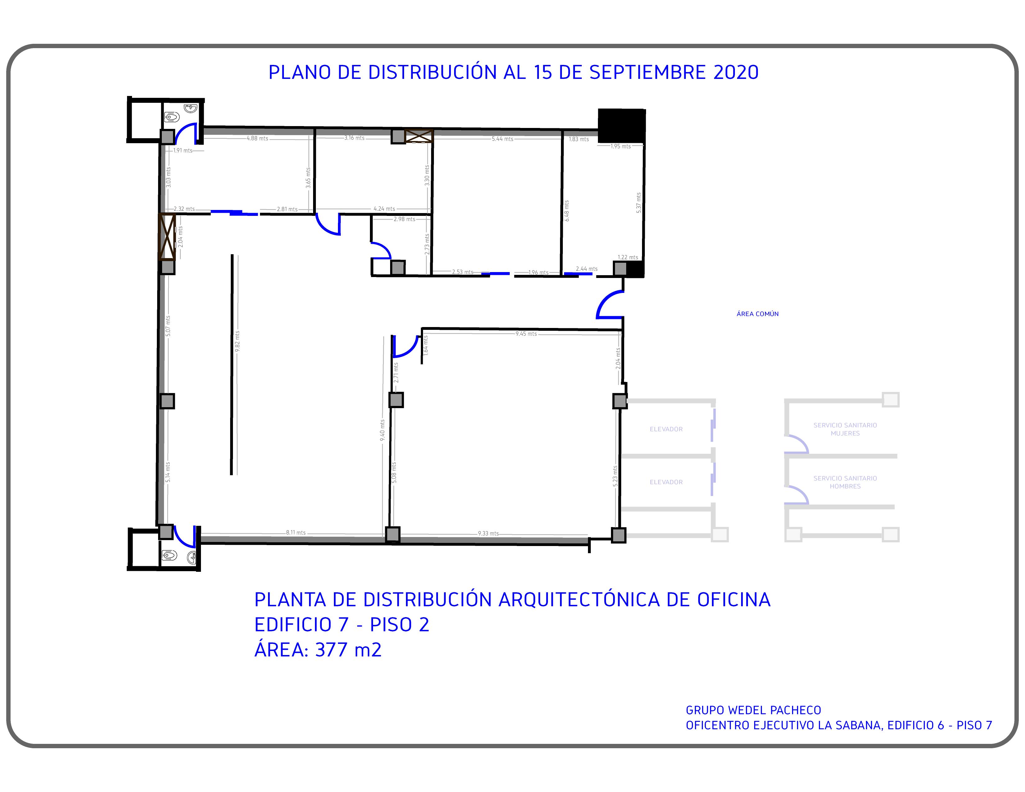 Alquiler de Oficina de 377.85 m2
